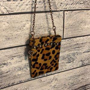 Handbags - Leopard mini purse